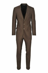 Tom Ford Suit Menand039s 46 Brown Regular Fit One Color