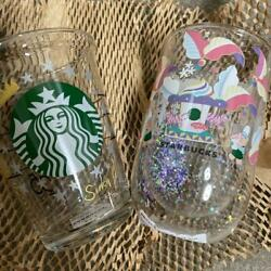 Starbucks 25th Anniversary Collectable Glass Heat Resistant Glass 2 Piece Set