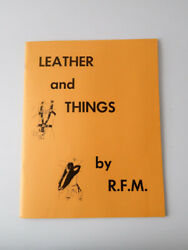 Vintage from 1976 Catalog LEATHER and THINGS Gay Interest