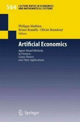 Artificial Economics Agent-based Methods In Finance, Game Theory And Their ...