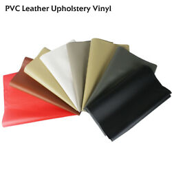 Faux Leather Sheets Vinyl Fabric Upholstery Home Furniture Replace Waterproof