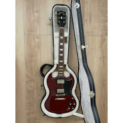 Gibson Sg Standard And03961 Vintage Cherry Made In Usa 2007 Electric Guitar Used