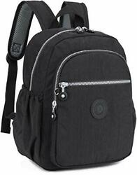 Small Nylon Backpack Mini Casual Lightweight Daypack Backpacks for Women and $35.09