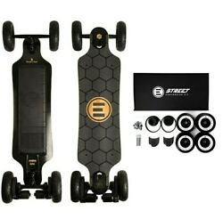 Evolve Electric Skateboard All Terrain 2 In 1 W/ Remote Control And Extra Tires
