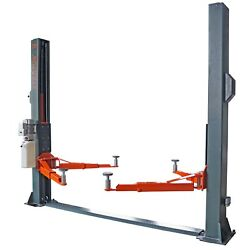 Stratus 2 Post Floor Plate 10000 Lbs Single Point Manual Release Lift Sae-f10p