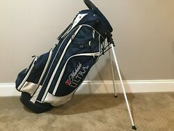 Michelob Ultra Navy Blue Golf Bag 14 Way Divider Local Pickup Only