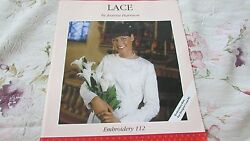 Husqvarna Viking Embroidery Set 112 Lace By Jeanne Harrison Designer 1 And Pc