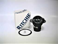 Ritchie F-600 Globemaster 6andprime Flush Mount Compass W/ 12v Green Led Bulbs Tested
