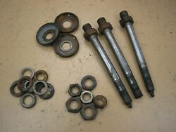 Toro Wheel Horse 520-h Tractor 78360 48 Side Discharge Deck Spindle Shafts