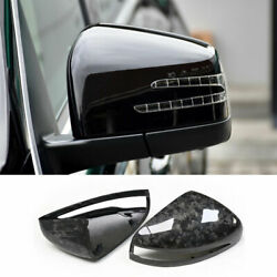 For Benz G-class 2019-2021 Forge Carbon Fiber Car Rearview Mirror Cover Replace