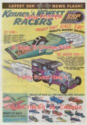 Ssp 1971 Toy Car Jet Star Copper Cart = Poster Comic Book 8 Sizes 18-3 Ft