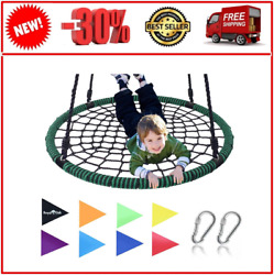 Giant 40 Spider Web Tree Swing 600 Lb Weight Capacity Durable Steel Green