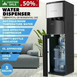 Bottom Loading Water Cooler Dispenser Stainless Steel 3-temperatures Safety