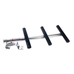 3 Step Stainless Steel Ladder With Bracket Transom For Diving Boat Boarding Step