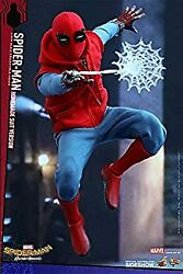 Secondhand Movie Masterpiece Spiderman Homecoming 1/6 Scale Figure Homemade Suit