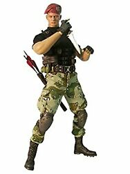 Secondhand Video Game Masterpiece Resident Evil Jack Crowther 1/6 Scale Model