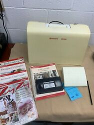 Husqvarna Viking Designer 1 Sewing Embroidery Machine Loaded With Extras