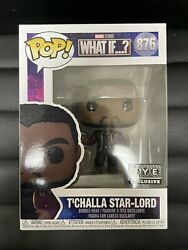 Funko Pop Marvel What If - Tand039challa Starlord Unmasked Exclusive 876 In Hand