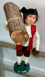 Byers Choice Ltd Signed Williamsburg Old Friends Carolers 2000 Retired Colonial