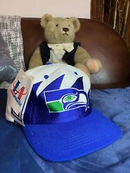 Logo Athletic Snapback Sharktooth Seattle Seahawks New With Tags