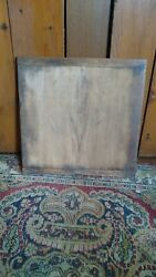 Antique Early Primitive Handmade Small Wood Cutting Board Attic Surface 12 Nice