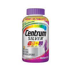 Centrum Silver Women Multivitamin Tablet Age 50 And Older 275 Ct