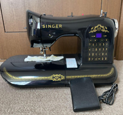 Singer Computer Sewing Machine Black 160th Anniversary Limited Edition