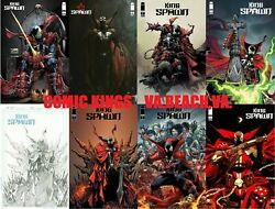 King Spawn 1 8 Cover Variant Set A-h 150 Sketch Free Ship Comic Kings