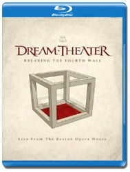 Dream Theater - Breaking The Fourth Wall Blu-ray