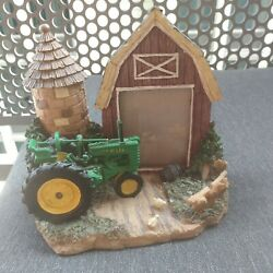 Rare Vintage John Deere Tractor Company Photo/ Picture Frame