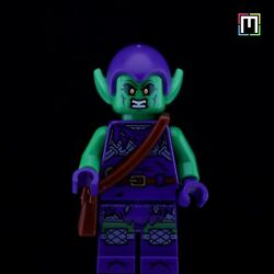 Brand New Lego Marvel Green Goblin Minifigure From Set 76178 The Daily Bugle