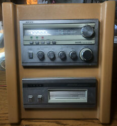 Vintage 1970and039s Audiovox Am/fm In-dash Radio + 8 Track Car/ Boat