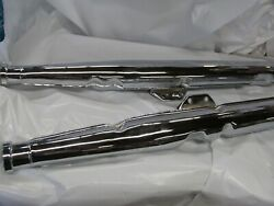 Suzuki T500 Cobra Gt500 Show Quality Right And Left Exhaust Set 68-77