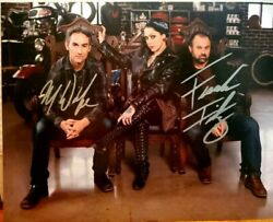American Pickers Mike Wolf And Frank Fritz 8x10 Autograph W/coa Holo