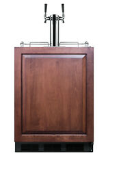 Summit Sbc58blbiada Built-in Undercounter Height Commercially - Panel Ready