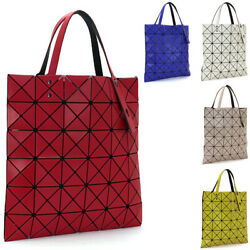 Issey Miyake Bao Bao Lucent Matte Tote Bag White Red Yellow Ag673 Japan New