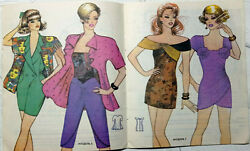 1993 Vintage Fashion Catalog Sewing Patterns Magazine Booklet Book For Women