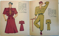 1987 Vintage Fashion Catalog Sewing Patterns Magazine Booklet Book For Women