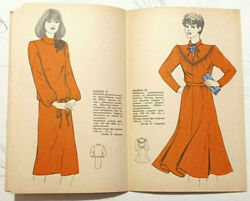 1983 Vintage Fashion Catalog Sewing Patterns Magazine Booklet Book For Women