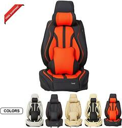 Aslong 5pcs H7 Front And Back Car Seat Covers Auto Interior Accessories With Wat