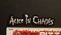 Alice in Chains embroidered Patch NEW