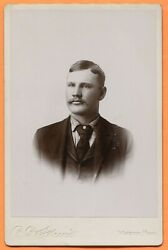 Windom, Mn, Portrait Of A Young Man, By Skewis, Circa 1890s