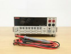 Keithley 2400 Source Meter With Lead Set