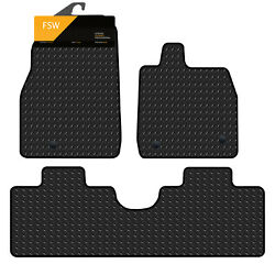 Ford Mustang Mach-e 2021-onwards Tailored 3mm Heavy Duty Rubber Car Floor Mats