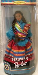 1998 Peruvian Barbie Doll Dolls Of The World Collection New In Box
