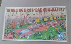Ringling Brothers And Barnum And Bailey 1945 Small Poster Original 14 X 7 .6/8