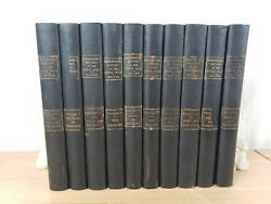 10 Vol Photographic History Of The Civil War Miller Patriot 1911 Leather Bound