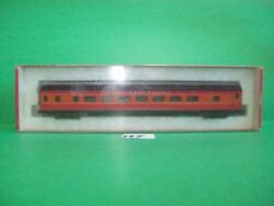 N7 N Scale Con Cor Sp Daylight Passenger Car Coach Pre-owned No Box Hook Coupler