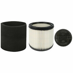 Replacement Cartridge Filter Fit For Shop Vac 90304 90350 90333 Type U