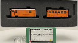 Brass H0 Overland Models Northern Pacific Omi-4311.1 Np Residual Magnetic Rail